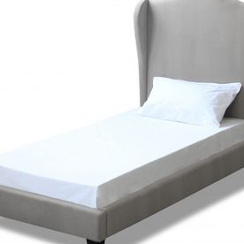 Chateaux Wing Bed Silver